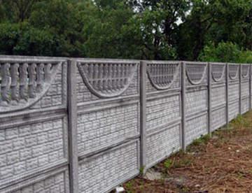 Преимущество бетонных заборов