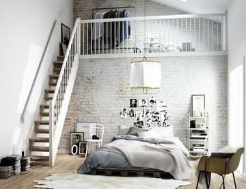 Скандинавский стиль в интерьере спальни: проявление нордического характера