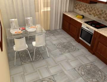 Что выбрать для кухни: керамическую плитку или керамогранит