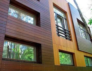 Основные разновидности фасадов для зданий