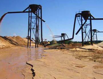 Где добывают строительный песок?
