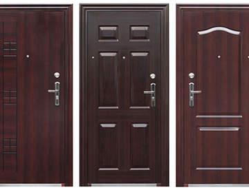 Современные элитные металлические двери