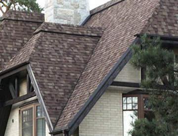 Покрытия из битума: рубероид, гонт, волнистые листы