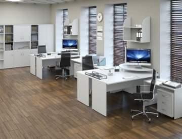 Характеристики и виды офисной мебели