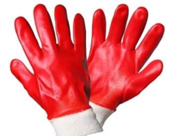 Перчатки с ПВХ покрытием