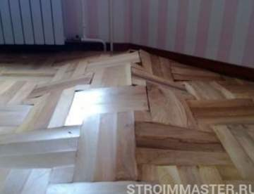 Ремонт деревянных полов