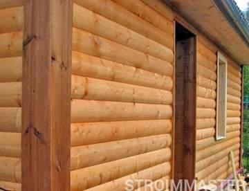 Блок-хаус. Натуральная древесина по низкой цене