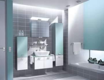 Мебель для ванной - современный интерьер