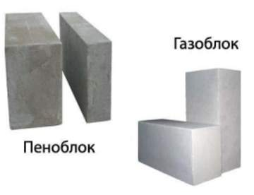 Какой материал лучше: газобетон или пенобетон