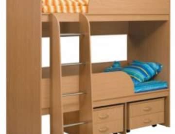 Двухъярусная кровать – правильный выбор для детской комнаты