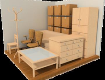 Хранение мебели на время ремонта