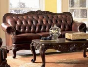 Кожаная мебель - символ роскоши и престижа