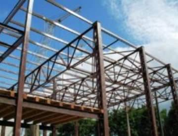 Металлоконструкции сборных модульных зданий