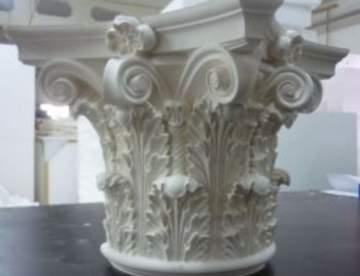 Производство стеклофибробетона и декоративных изделий из него