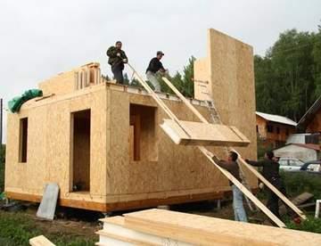 Лучшее решение для современного строительства – дома из СИП-панелей