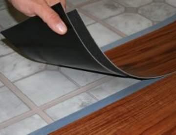 ПВХ (виниловая) плитка для пола
