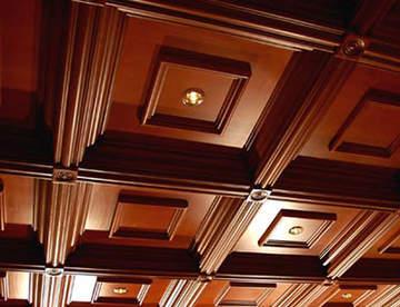 Особенность деревянного потолка