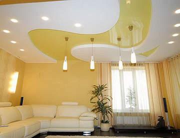 Выбираем натяжной потолок: глянец или матовый