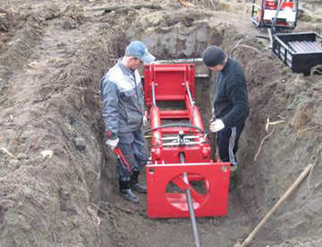 Технология прокладки трубопроводов с помощью прокола грунта
