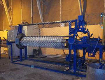 Производство сетки рабицы