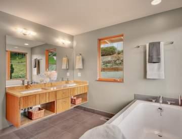 Раковина в ванной: отличительные особенности актуальных решений