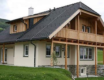 Комбинированный дом – западные традиции в отечественных реалиях