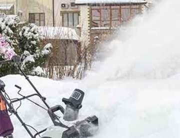 Корейские снегоуборщики Hyundai